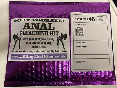 Prank Mail Anal Bleaching Kit - NEW Large Letter, 100% Anonymous Prank • 5.99£