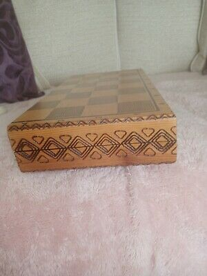 Excellent Condition Chess Set And Engraved Box • 10£
