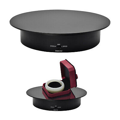 Rotating Display Stand 360° Electric Rotating Turntable For Photography • 19.90£