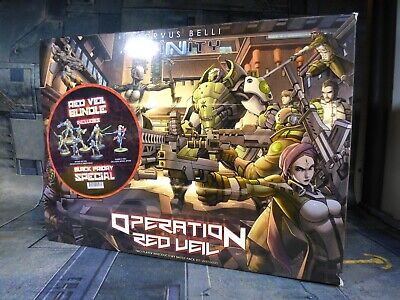 Corvus Belli Infinity Operation Red Veil OOP Limited Edition Miniature (W256) • 110£