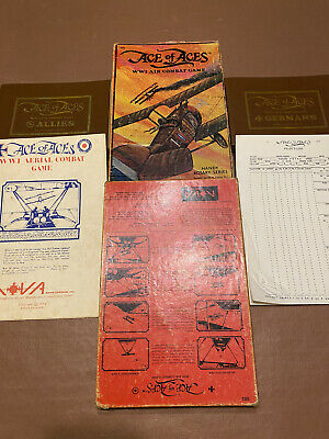 Ace Of Aces - World War 1 Vintage Ww1 Air Combat Game • 15£