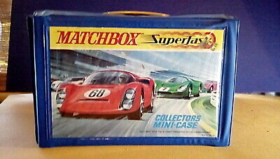 Matchbox Carry Case Superfast Rare Full  • 49.99£