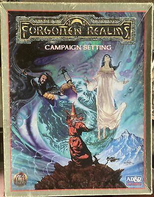 TSR Advanced Dungeon And Dragons Forgotten Realms Campaign Setting (2nd Ed 1993) • 11.50£