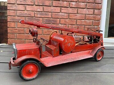 Keystone Water Pump Towers Fire Engine - Large Pre War Vintage Model Rare • 699.95£