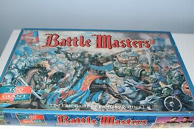 Battle Masters MB Board Game 1992. • 60£