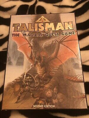 Talisman 2nd Edition Used 1 Black Card Holder Missing And 2 Of The Cards Marked • 10.30£