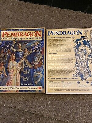 Pendragon Chivalric Roleplating In Arthurs Britain • 4£