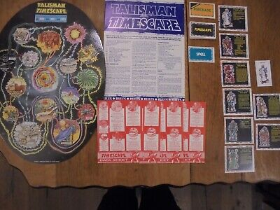 Talisman Timescape Game - Talisman 1st & 2nd Edition Unboxed Complete Expansion • 45£