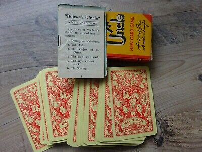 Bobs Your Uncle Card Game • 3£