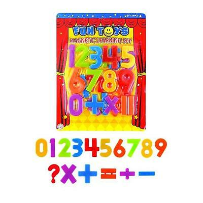 Magnetic Numbers Children's Kids Math's Learning Magnets • 1.99£