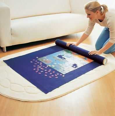Giant Puzzle Roll-up Mat Jigsaw Jumbo Large 3000 Pieces Fun Game Easy Storage • 9.95£
