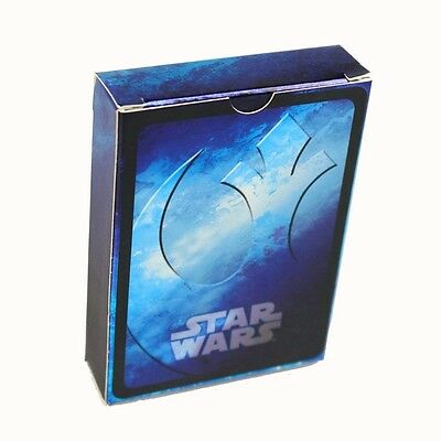 STAR WARS - Collectable Playing Cards - Blue Deck - CARTAMUNDI Brand New • 3.99£