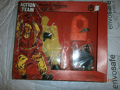 Vintage Action Team Breeches Buoy Carded Window Box 1/6th Scale Toy   • 99.99£