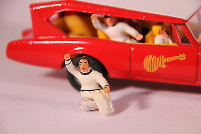 Corgi 277 Monkee Mobile Mickey Dolenz Figure (Reproduction - Painted) • 3.60£