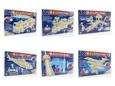Matchstick Modelling Kits 'Matchitecture' - 10% Off For 2 Or More Purchases!  • 28.99£