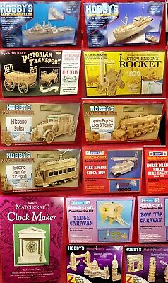 Matchstick Modelling Kits Various • 15.50£