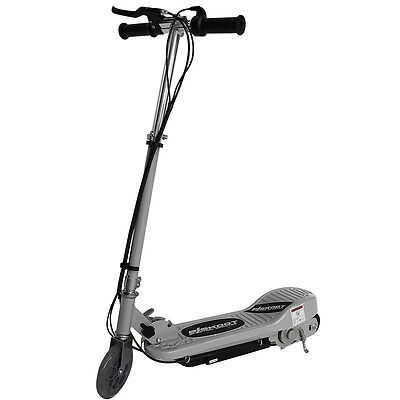 Kids Electric Scooter Silver Ride On Toy Battery Childrens Adjustable Fast Bike • 69.99£