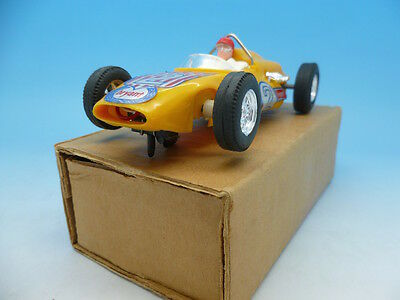 C80 Scalextric Offenhauser In Yellow Mint Unused In Export Box • 120£