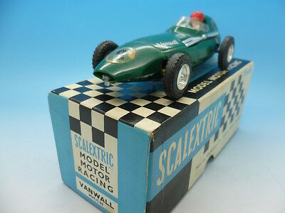 C55 Scalextric Vanwall, No2 In Green Mint Boxed Example. • 120£