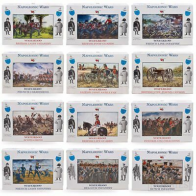 A Call To Arms Napoleonic Wars Waterloo British French Soldiers Figures 1:32 • 8.99£