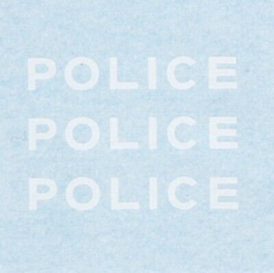 French Dinky 1450 Simca 1100 | POLICE | Waterslide Transfer / Decal • 1.60£