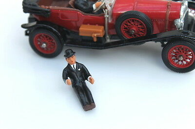 Corgi 9004 World Of Wooster Jeeves Driver Figure (Reproduction - Painted) • 3.60£