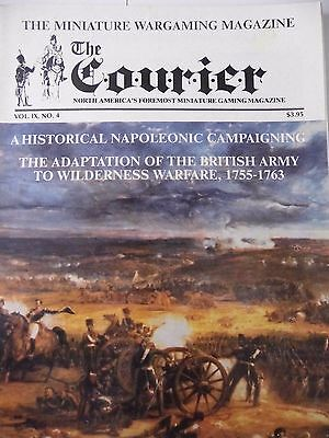 THE COURIER MAGAZINE - VOL.IX Number 4 HISTORICAL NAPOLEONIC CAMPAIGNING  • 15£
