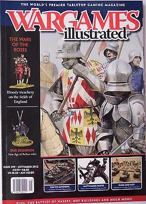 Wargames Illustrated - Issue 299 September 2012 - The Wars Of The Roses • 4.70£