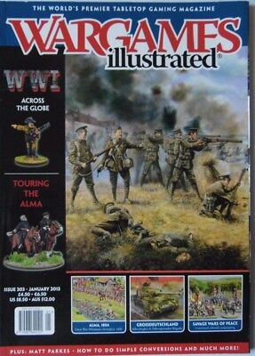 Wargames Illustrated - Issue 303 January 2013 - Ww1 Across The Globe • 4.70£