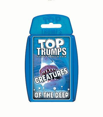 Top Trumps Creatures Of The Deep Card Game • 4.49£