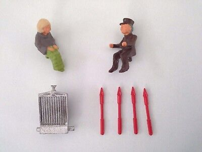 Dinky 100 Lady Penelope's FAB 1 - Replacement Parts (Reproduction) • 3.50£