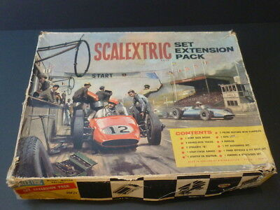 Scalextric HP1 Extension Pack, Rare French Red Bridge Version Boxed • 240£