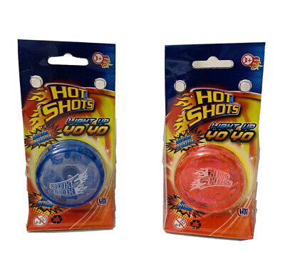 NEW Hot Shots Light Up Yo Yo Trick Mechanism Yo Yo Speed Auto Return-- Uk Seller • 3.99£