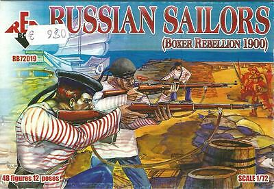 Red Box 1:72 Toy Soldiers Russian Sailors (boxer Rebellion 1900) Art Rb72019 • 8.64£