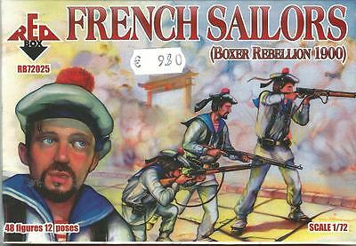 Red Box 1:72 Toy Soldiers French Sailors (boxer Rebellion 1900) Art Rb72025 • 8.64£