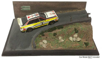 'Hairpin Corner' Rally 1/43 Scale Handcrafted Lightweight Model Display Base • 39.99£