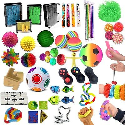 Small Sensory Toys, Fidget, UV, Educational, Special Needs & Autism, Stress,ADHD • 19.49£