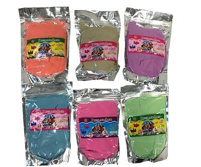 Magic Motion Moving Play Sand Pack 500g -1000g (1KG) Variety Colours Never Dry • 6.99£