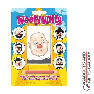Wooly Willy Style Hair With Magnetic Wand Pocket Money Toy Stocking Filler • 3.89£