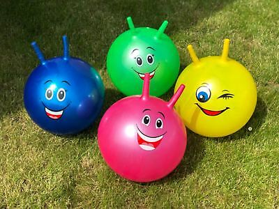 Large-40cm Kids Space Hopper Hop Outdoor Bouncy Jumping Ball With Grip Handles  • 7.49£