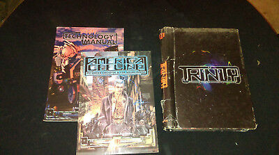 Trinity RPG WW9100 + Technology Manual & Psi Ops RARE OOP • 15£