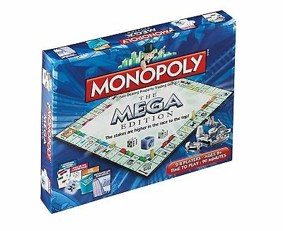 Winning Moves Monopoly Mega Edition Board Game 2459 • 24.99£