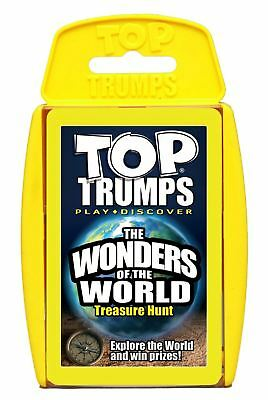 Top Trumps - Wonders Of The World Game • 4.95£