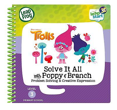Leapstart Reception: Trolls Solve It All With Poppy & Branch Activity 3D *NEW* • 7.99£