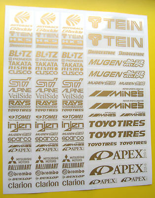 RC Drift GOLD Stickers Decals HPI Losi Drift-R Kyosho • 9.95£