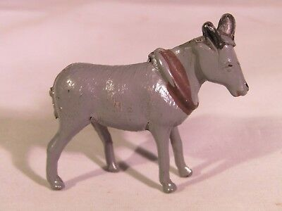 CRESCENT PRE-WAR 1940 LEAD FARM SERIES DONKEY With COLLAR  • 9.95£