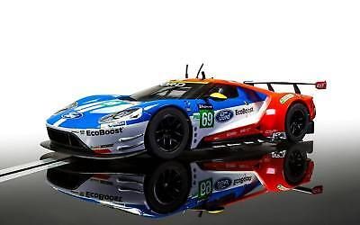 Scalextric C3858 Ford GT GTE Le Mans 2017 No.69 Mint Unused • 40.99£