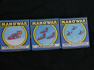 Games Workshop Man O War, Dwarf Fleet Multi-listing • 25£