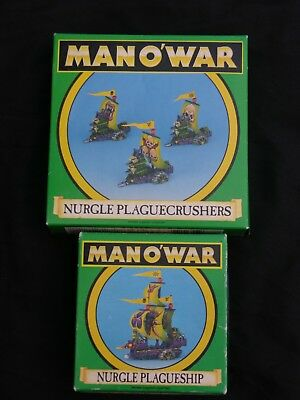 Games Workshop Man O War, Nurgle Fleet Multi-listing • 35£