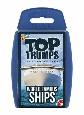 Top Trumps World Famous Ships Card Game • 3.98£